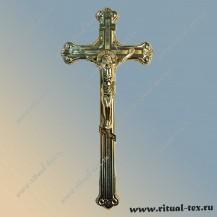 """Крест """"Коронка"""" металлизированный ПМ3546"""