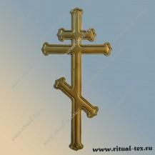 Крест без распятия крашеный Р453
