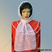 Шарф текстильный с веточкой 1031-В