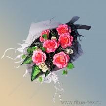 Букет «Серебренная роза»