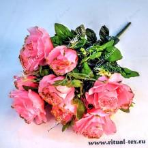 4225 Букет роз с бутонами и зол.кром. 12гр.