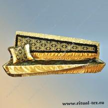 """Комплект гроба """"Херувимы"""" (в упаковке) цвет черный с золотом"""