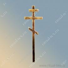 Крест деревянный узкий (обожженный с фаской)