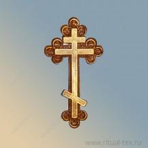 """1.09 Крест """"Ажурный"""" без распятия"""
