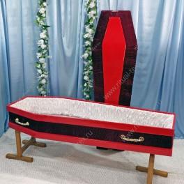 Гроб комбинированный