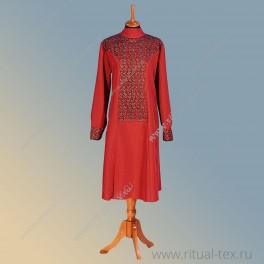"""Габардин """"Рельеф"""", кружевное полотно, цвет бордо"""