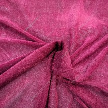Бархат стрейч бордо, ширина 1,5м арт. 15012