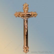 Крест металлизированный арт. 15559 Сu