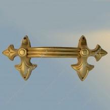 """Ручка для гроба """"Лилия"""", золото крашенная"""