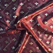 Ткань атлас с накатом