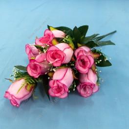 Букет роз, 10 г, 45 см, арт. 379-4, микс 20 шт.