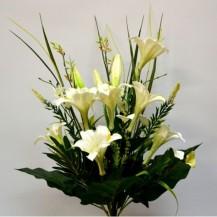 Букет лилия, калла 25г