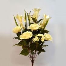Букет роза, лилия 18г
