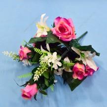 Букет роза, лилия, 14 г, арт. 11451