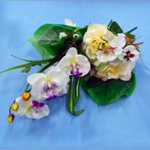 Букет роза, орхидея, 16г, арт. 11449