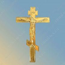 """Крест """"Распятие"""" металлизированный, цвет золото, арт. 15560"""