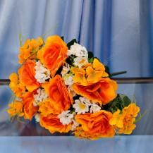 Букет роза, ромашка 21 г, арт. 11446