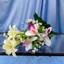 Букет лилия, орхидея, 24г, арт.11280