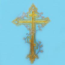 Термокрест золотой с серебряной веткой арт. 2007