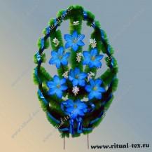 Венок ВМ-1, синий