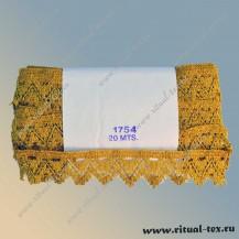 Тесьма 1754 золото
