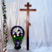Крест большой под золото