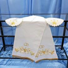 Набор венчальный из льна