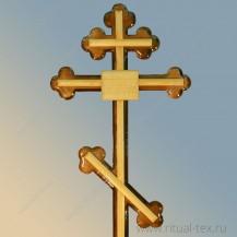 """Крест """"Клевер"""" арт. В1"""