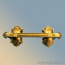 "Ручка для гроба ""Саркофаг"", золото краска арт. 16000"